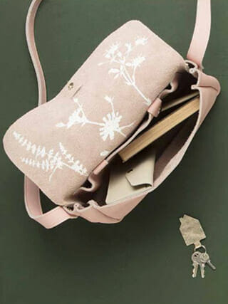 Keecie tas Picking flowers Soft Pink