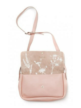 Keecie Bag Picking flowers Soft Pink