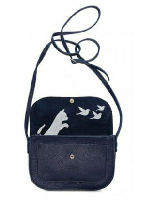 Bag Keecie Cat Chase Ink Blue
