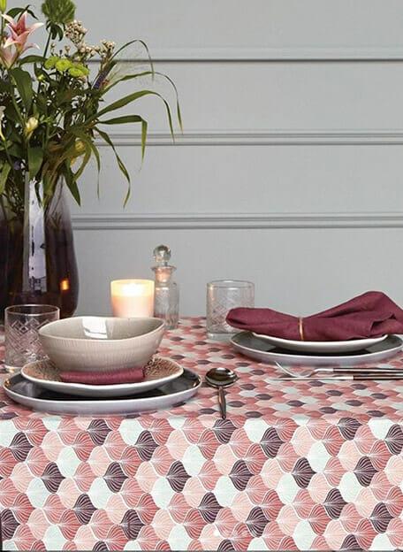 tafelzeil au maison burned rose