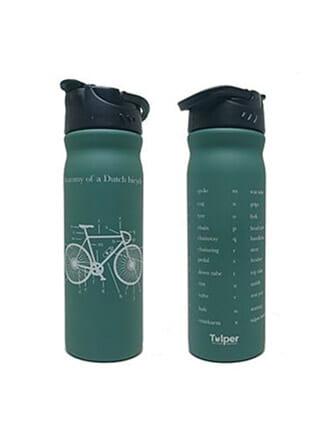 Tulper RVS drinkfles groen