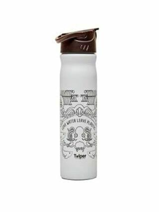 Tulper RVS drinkfles lichtgrijs