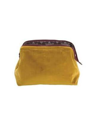 Velvet bag Au Maison Mustard