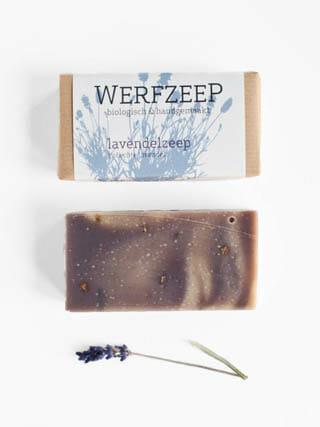 lavendeel biologische zeep van het merk werfzeep
