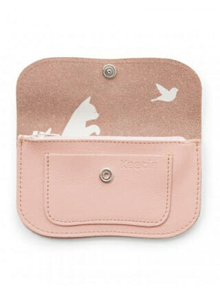 keecie portemonnee soft pink small