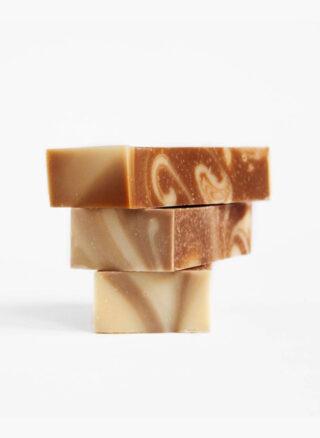 werfzeep chocolade swirl