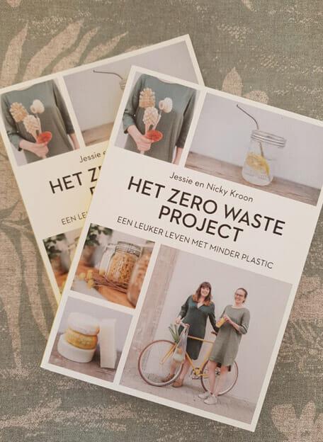 Boek over een leuker leven met minder plastic.