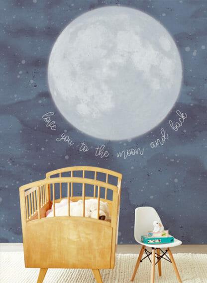 MINI ME behang voor de babykamer van eijffinger
