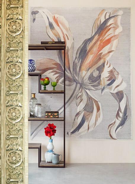 fotobehang met bloem van masterpiece collectie eijffinger