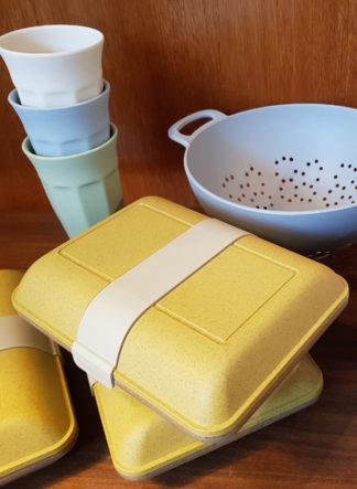 vibers lunchbox geel