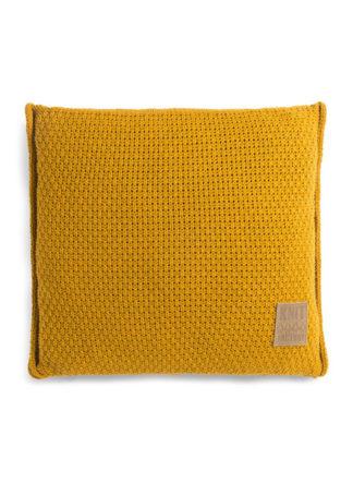 knit factory jesse kussen okergeel