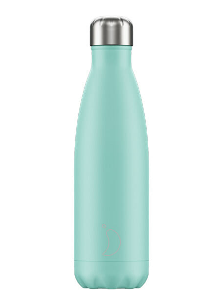 Chilly's bottle Pastel Green drinkfles 500 ml