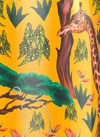 detail tropical giraffe chillys drinkfles