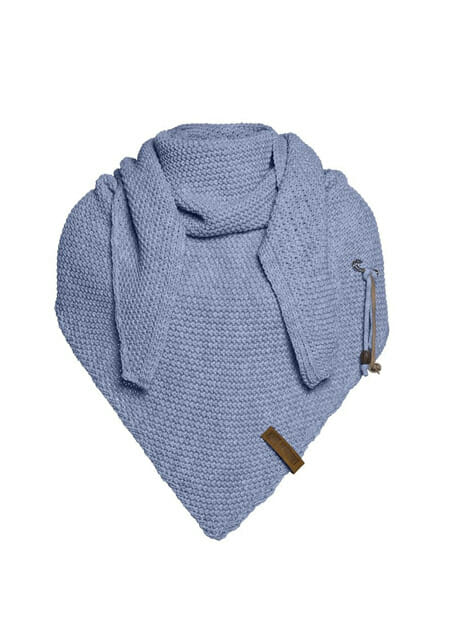 knit factory coco omslagdoek indigo