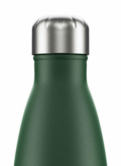 matte green chilly drinkfles 750ml