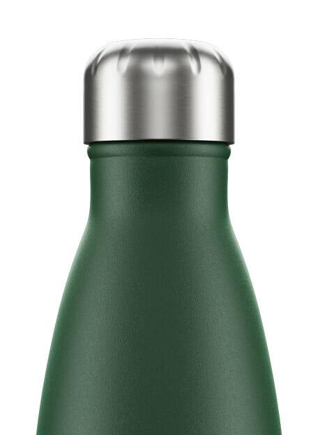 matte green chilly drinkfles 750ml