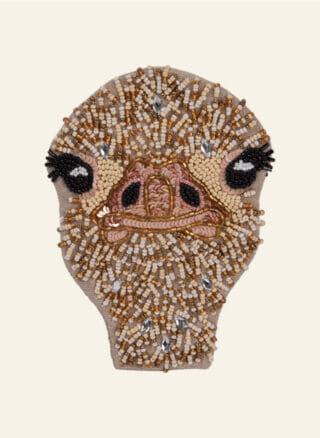 struisvogel portemonnee