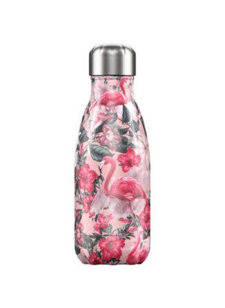 chillys bottles flamingo drinkfles