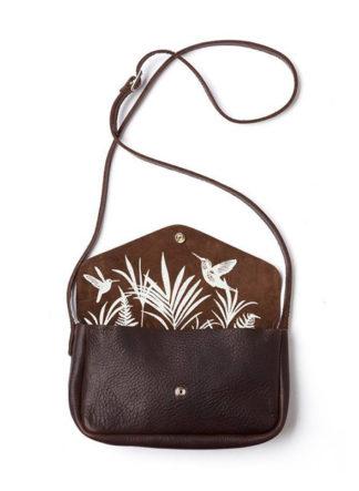 Keecie Bag Humming Along Dark Brown used look
