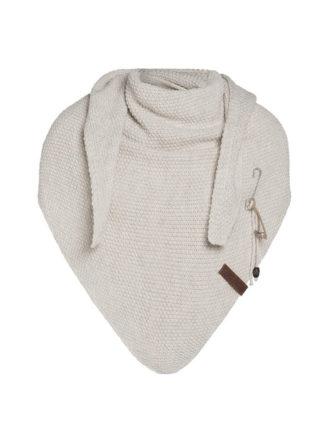 knit factory coco omslagdoek deluxe beige