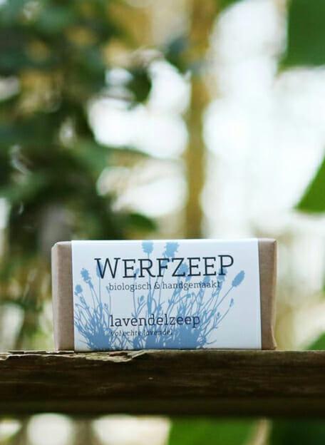 lavendelzeep werfzeep