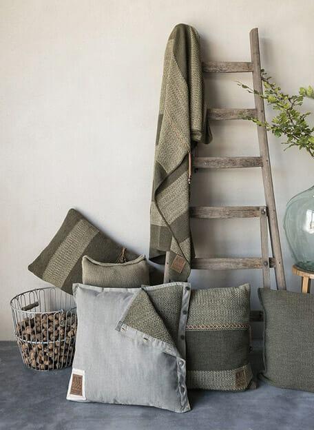 sfeerbeeld olijfgroen knit factory