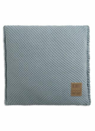 stonegreen kussen knit factory