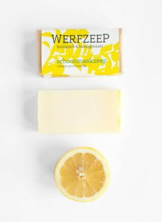 werfzeep schoonmaakzeep citroen