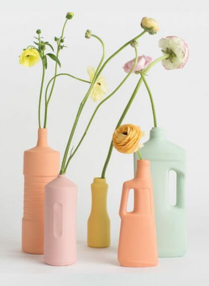 groep vazen van foekje fleur