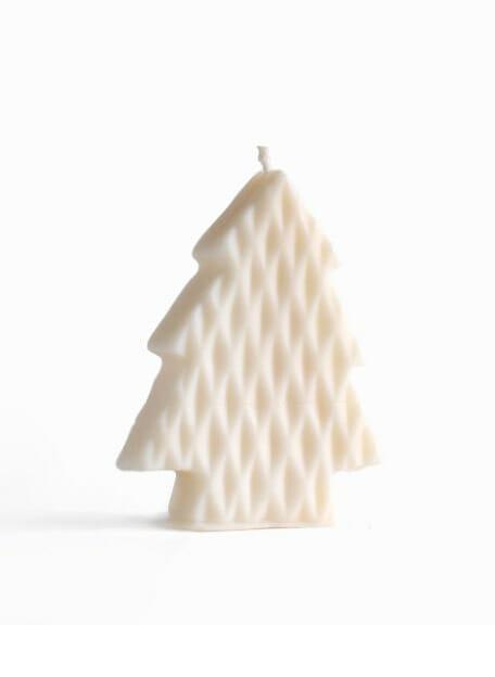 Babongo diamond kaars in de vorm van een kerstboom
