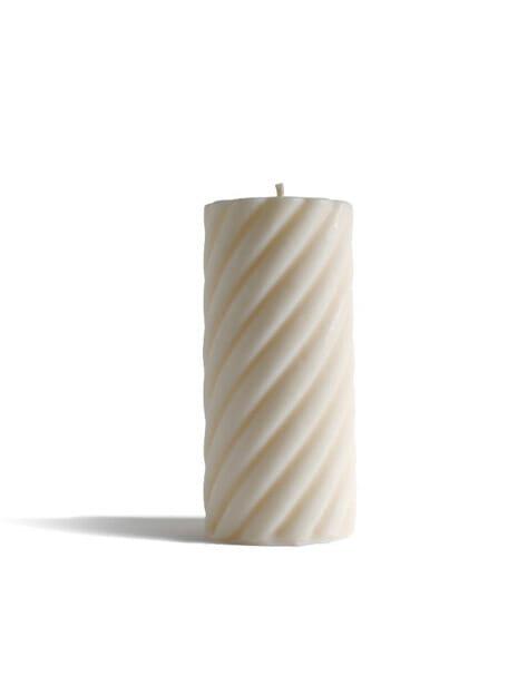 Babongo spiral cilinder kaars koolzaadwas