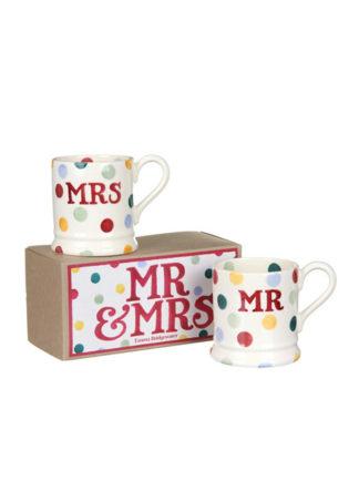 Mok Mr & Mrs Polka Dots Emma Bridgewater