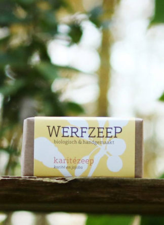 Karitezeep Werfzeep