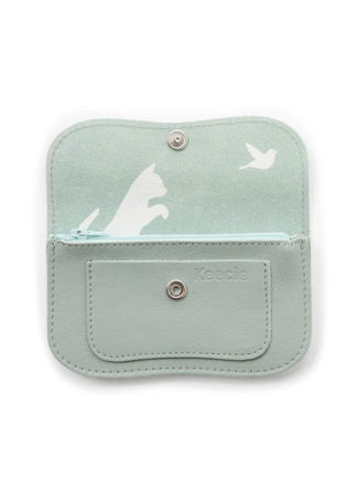 dusty green wallet keecie