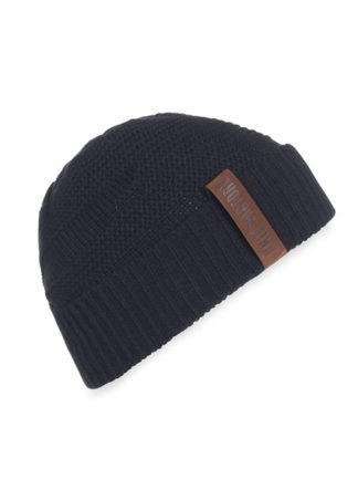 Knit Factory Joy beanie muts navy