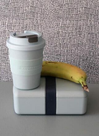 PLA Lunchbox time out van Zuperzozial poederblauw