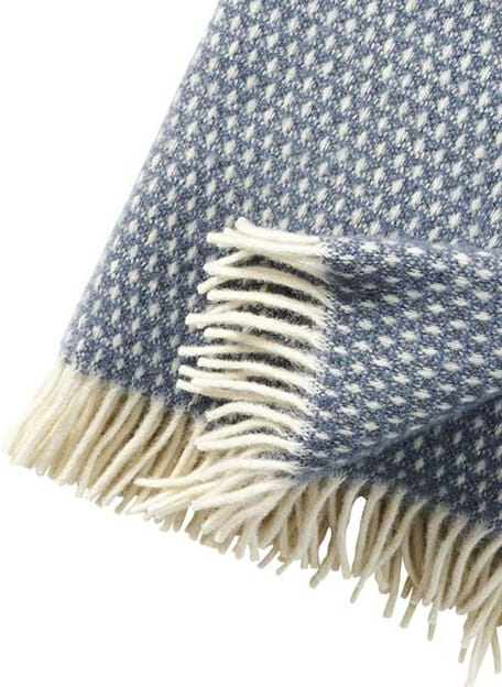 Klippan plaid smokey blue Knut