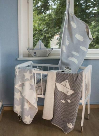 PANDA baby deken Stars David Fussenegger