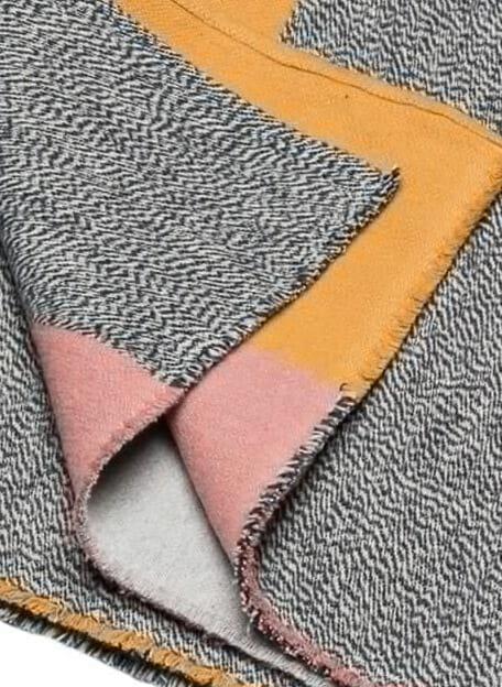 nova colour block plaid detail