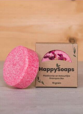HappySoaps rozen shampoo zeep