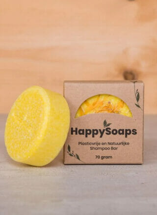 Happysoaps 100% natuurlijke shampoo Chamomile Down & Carry On