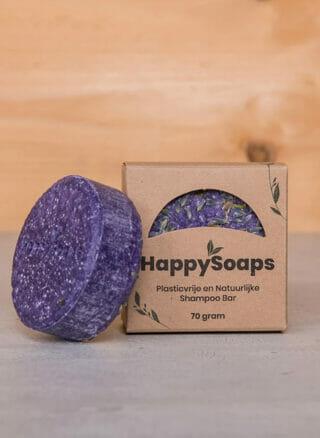 Prinselijk douchen met onze Purple Rain Shampoo Bar