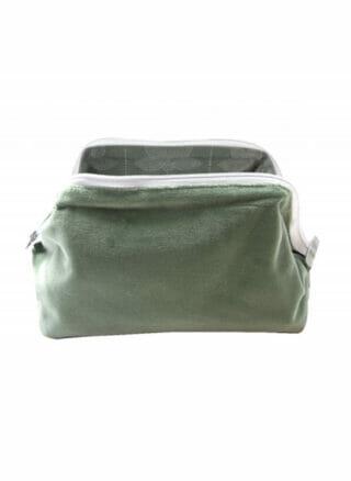 Velvet Basic Sponge bag Mint/Verde