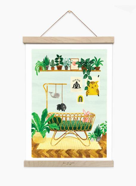 Boy Bedroom print