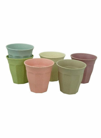 cupful of colour zuperzozial bamboe bekers