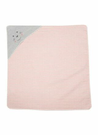 fussenegger badcape seal stripes meisje