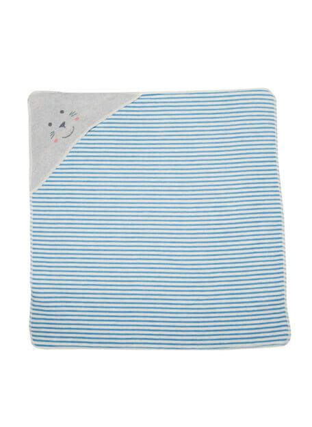 fussenegger badcape seal stripes