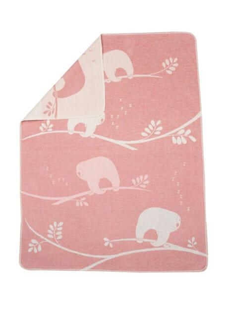 wiegendeken david fussenegger pink luiaards