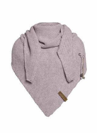 knit factory mauve omslagdoek coco