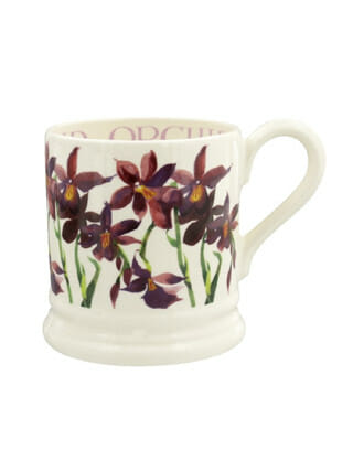 ½ pt Mug Orchid Emma Bridgewater